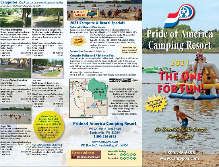 Pride of America Camping Resort Brochure